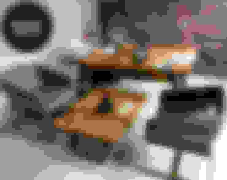 Mozilya Mobilya – Kestane Ağacı Ofis Masası:  tarz Ofis Alanları & Mağazalar