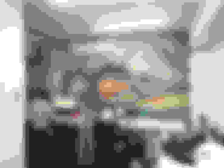 Fábrica Rexroth - Lima, Perú: Oficinas de estilo  por Blow Deco Pics