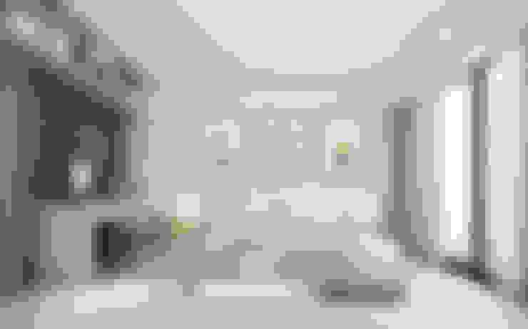 Grand Park View Condo อโศก:  ห้องนอนขนาดเล็ก by PANI CREAT STUDIO CO., LTD.