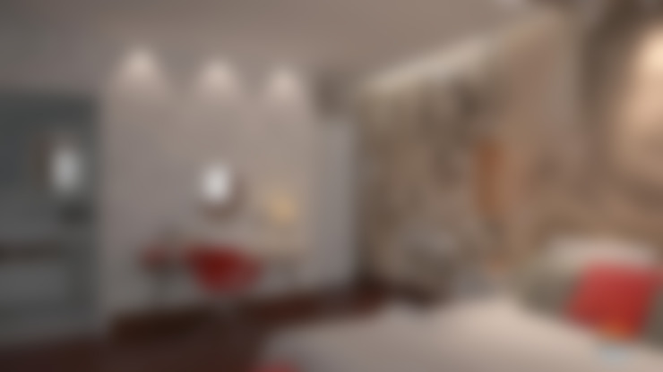 Slaapkamer door 5CINQUE ARQUITETURA LTDA