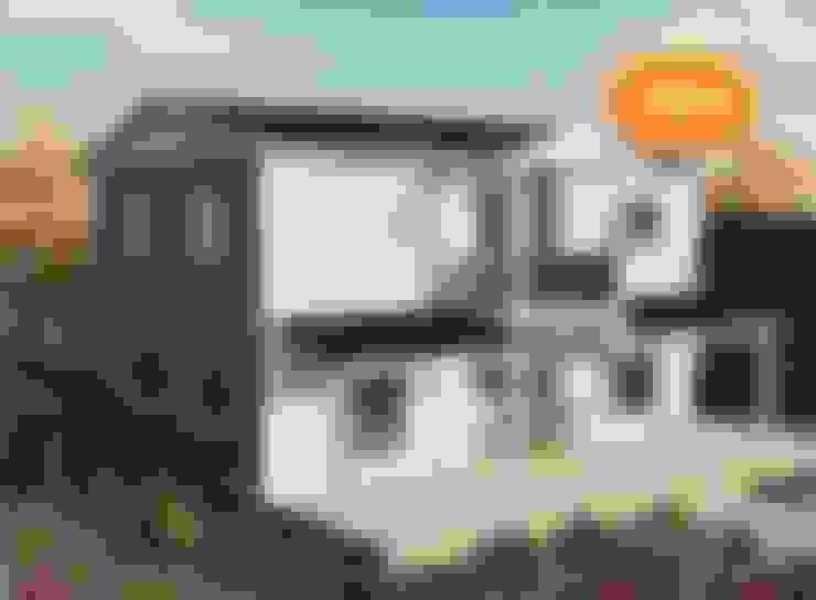EMİN PREFABRİK DOĞU – 158 m2 Çift Katlı Prefabrik EV:  tarz Prefabrik ev