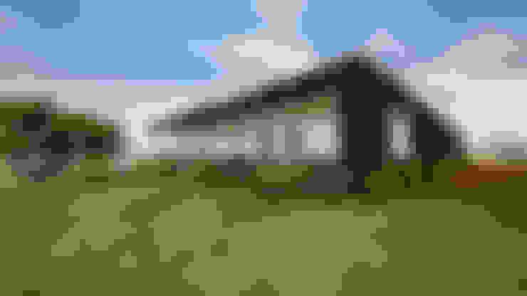DISEÑO DE CASA EN LAGO RANCO: Casas unifamiliares de estilo  por Dušan Marinković - Arquitectura - Santiago
