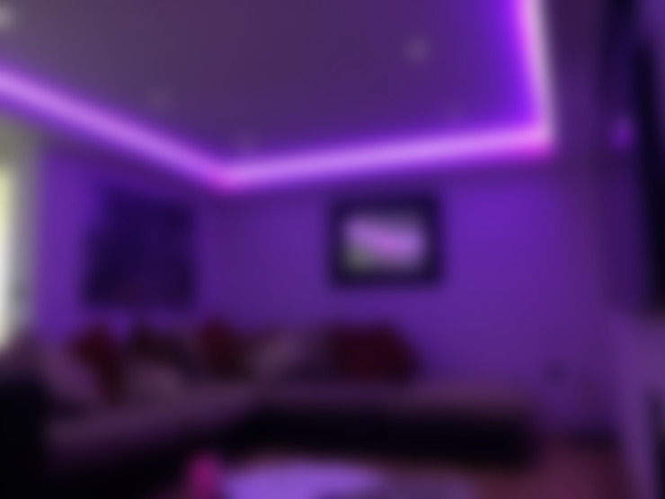 Living room by Urobo Home Automation