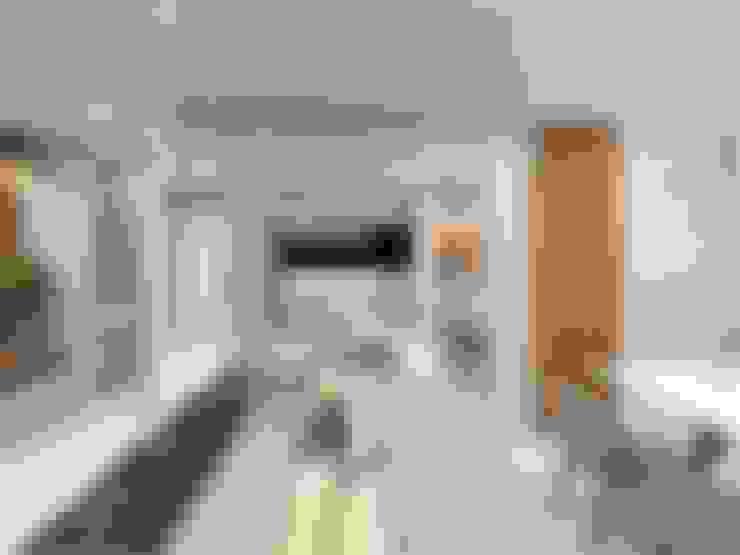 Salas integradas com a cozinha : Salas de estar  por Vilaville