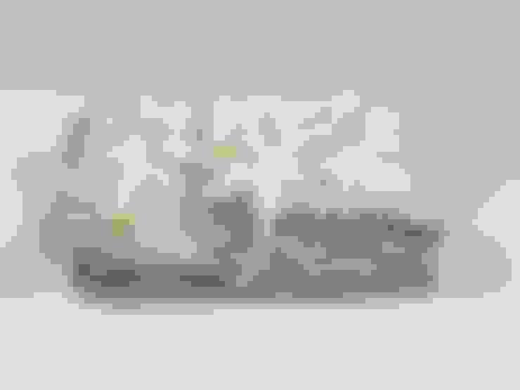 Lniana poszewka na kołdrę z falbanką Beige: styl , w kategorii  zaprojektowany przez NatureBed