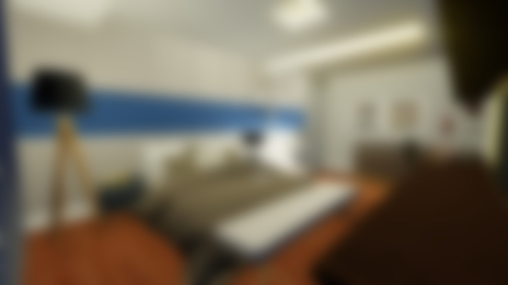 Bedroom by Joana Rezende Arquitetura e Arte