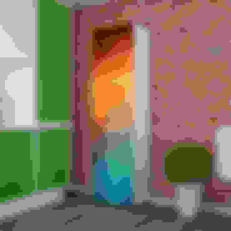 Candy Mobilyam – 3D Vektörel Renkli Desenli 8 Raflı Çok Amaçlı Dolap:  tarz Oturma Odası