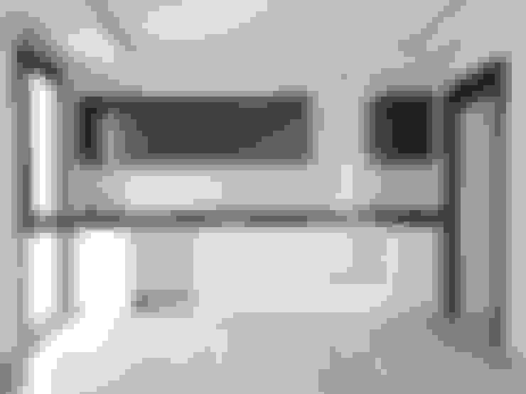 Orby İnşaat Mimarlık – Özder Apartman:  tarz Küçük Mutfak