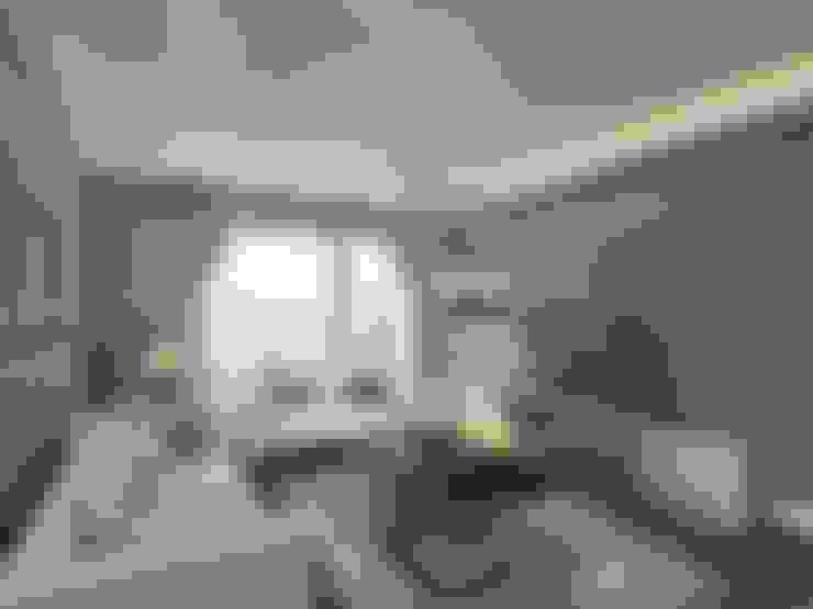Orby İnşaat Mimarlık – İç mekan - 3 boyutlu görsel:  tarz Oturma Odası