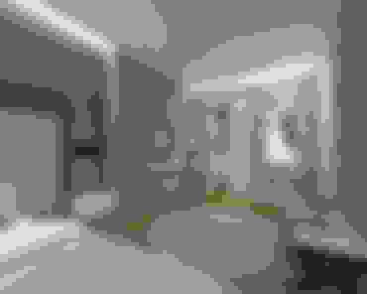 Orby İnşaat Mimarlık – İç mekan - 3 boyutlu görsel:  tarz Küçük Yatak Odası