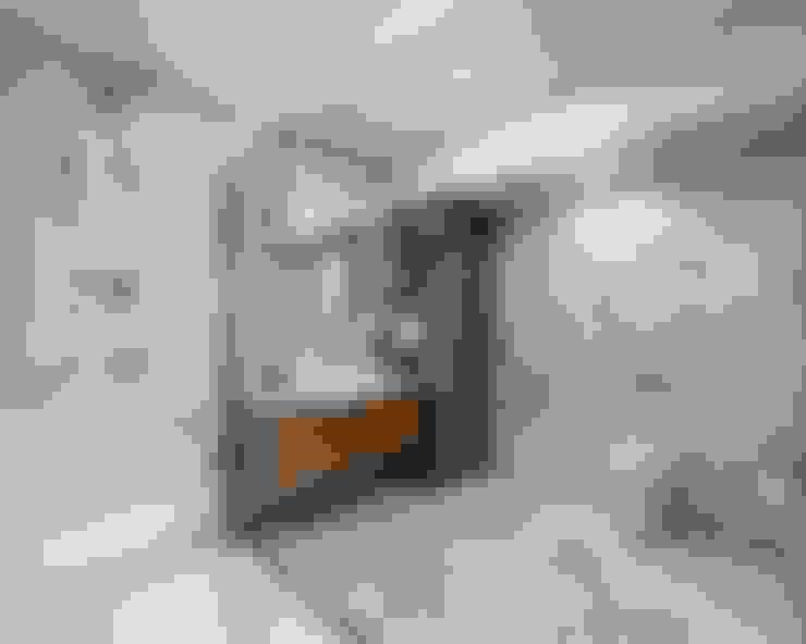 Orby İnşaat Mimarlık – İç mekan - 3 boyutlu görsel:  tarz Banyo