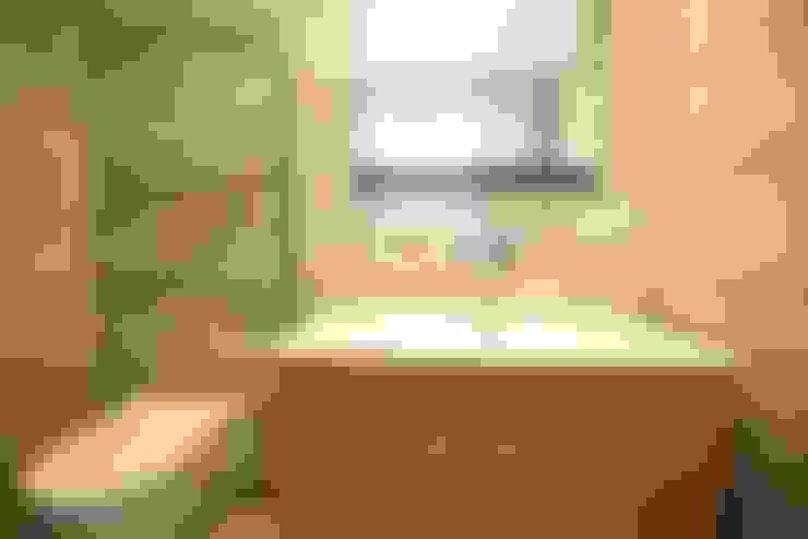 Orby İnşaat Mimarlık – Locaefes Projesi, B Tip daire banyosu:  tarz Banyo