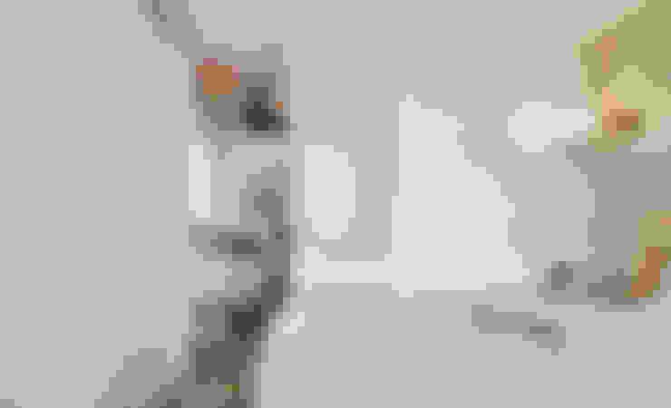 仰望-七坪 三房一廳一衛 古典唯美居家:  小臥室 by 酒窩設計 Dimple Interior Design