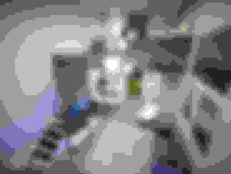 Vista interior: Salas de estar  por Paulo Stocco Arquiteto