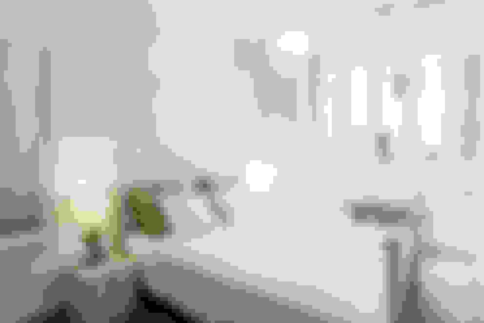 Dormitorios de estilo  por ISLABAU constructora