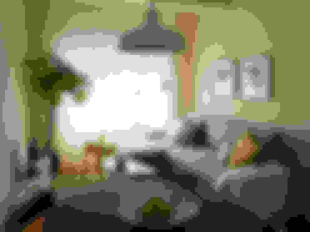 Salas de estar  por MUDA Home Design