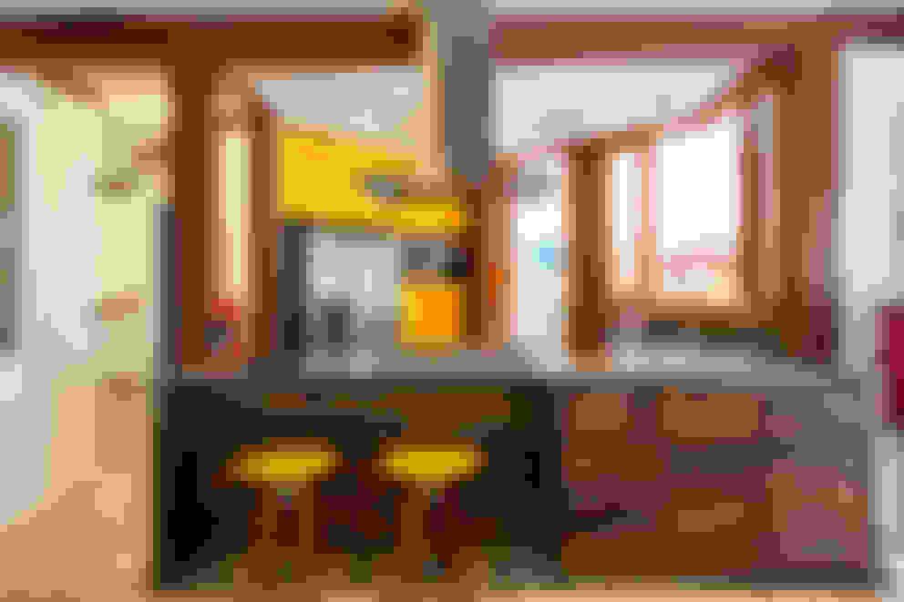 Casa Caiçara: Cozinhas  por RAC ARQUITETURA