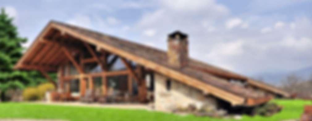10 Casas rústicas y fantásticas