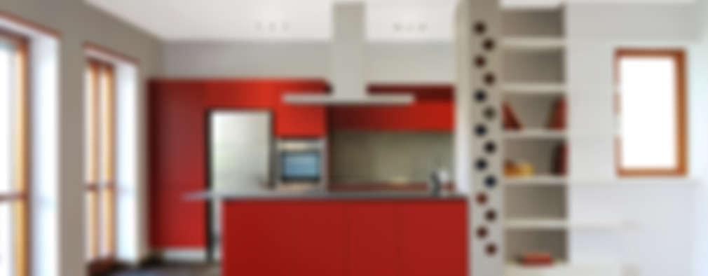 Cocinas de estilo industrial por CAFElab studio