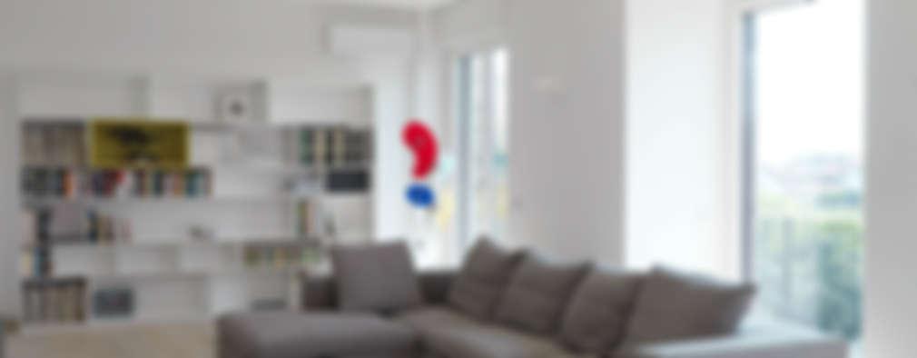 Idee per soggiorno moderno top idee per illuminare il for Disegni duplex moderni