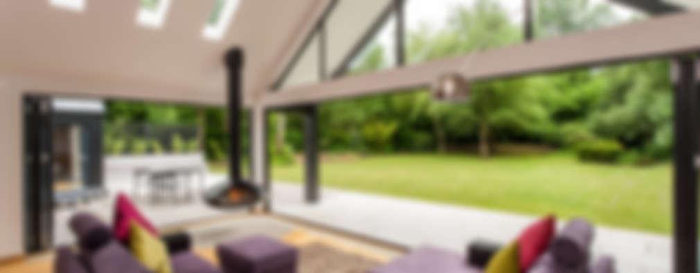 panoramafenster moderne wohnzimmer von designcubed roto preis