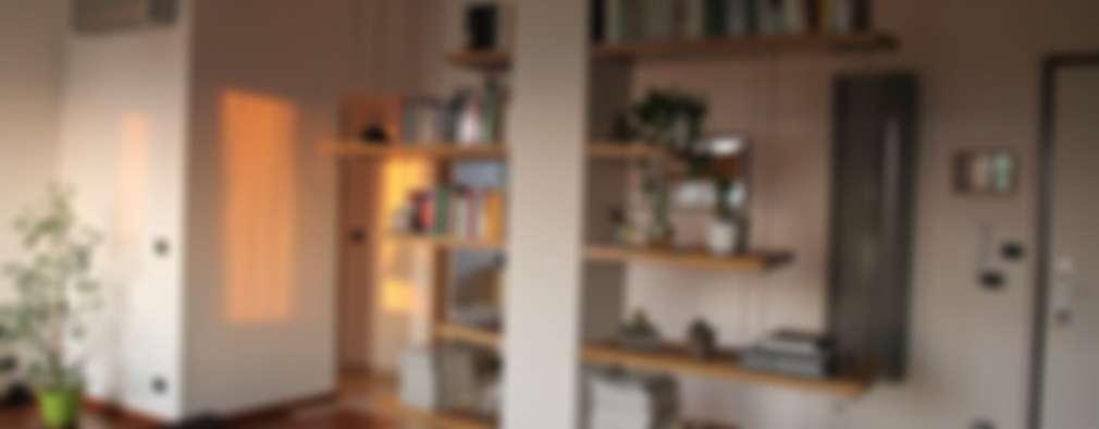 modern Living room by enrico massaro architetto