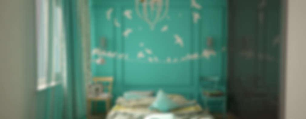 Dormitorios de estilo ecléctico por labzona