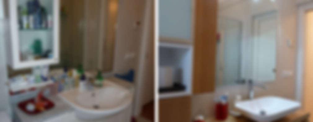 غرفة المعيشة تنفيذ Studio Massimo Rinaldo architetto