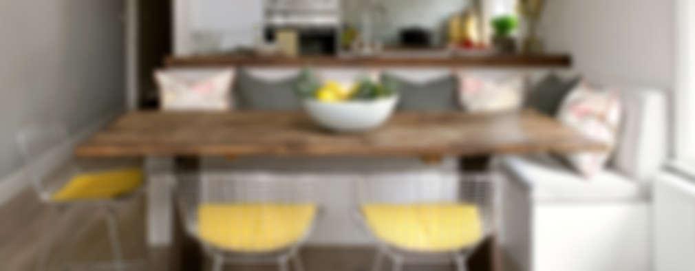 Comedores de estilo ecléctico por Amory Brown Ltd
