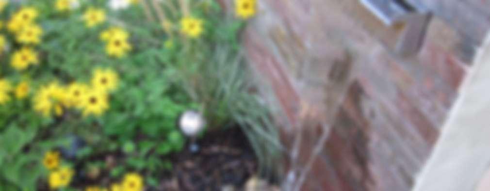 9 fuentes que se verán sensacionales en jardines pequeños