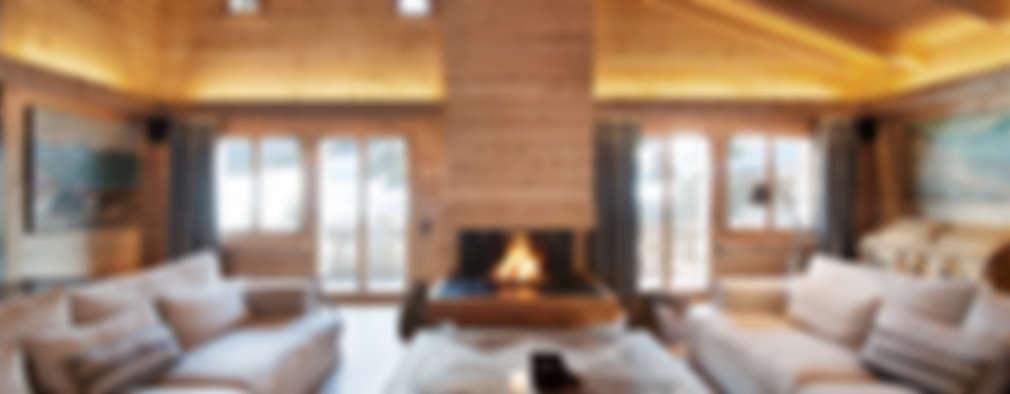 Ardesia Design: rustik tarz tarz Oturma Odası