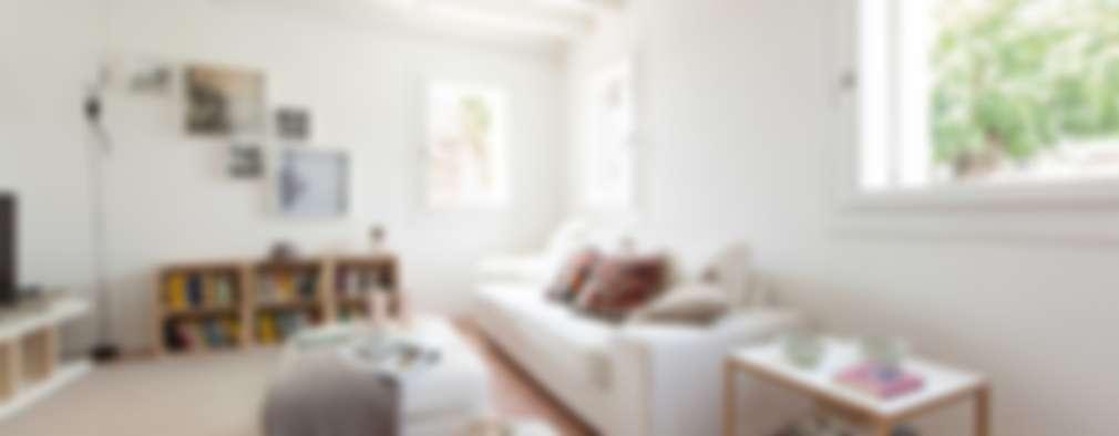 غرفة المعيشة تنفيذ Didonè Comacchio Architects
