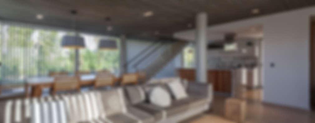Projekty,  Salon zaprojektowane przez ESTUDIO GEYA