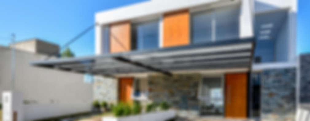 16 Diseños de fachadas modernas ¡Para enamorarse de la piedra!