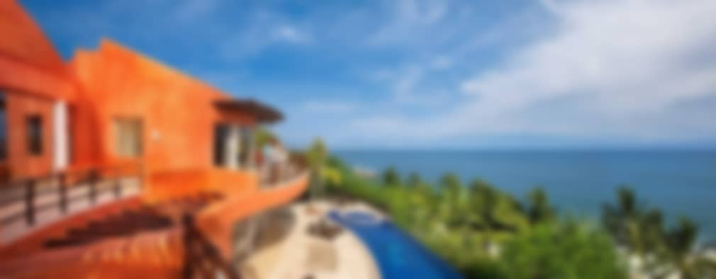 Casa Mariposa: Casas de estilo topical por arqflores / architect