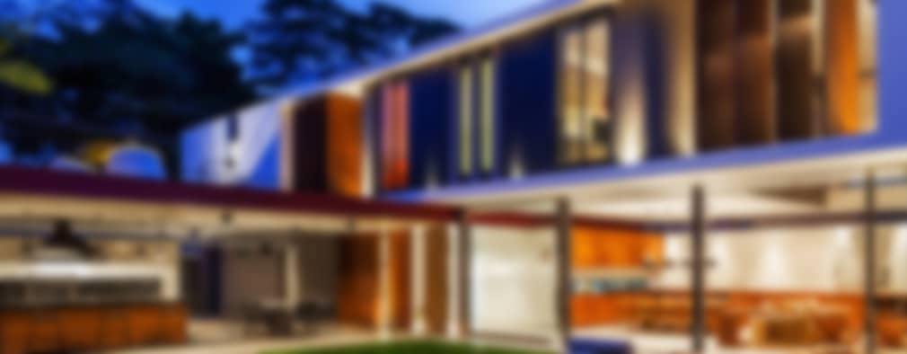 Casas de estilo moderno por FCstudio