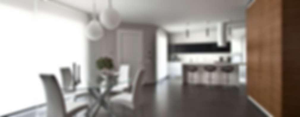Comedores de estilo moderno por Laboratorio di Progettazione Claudio Criscione Design
