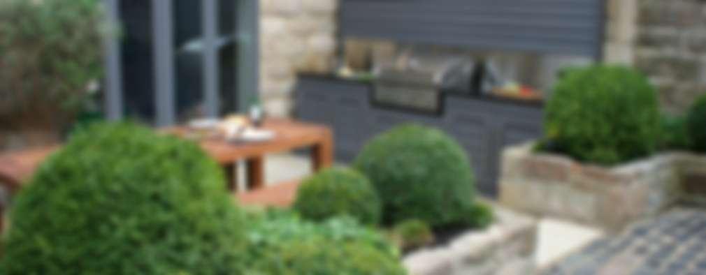 M s de 30 asadores que caben perfectamente en patios peque os for Planos de jardines pequenos