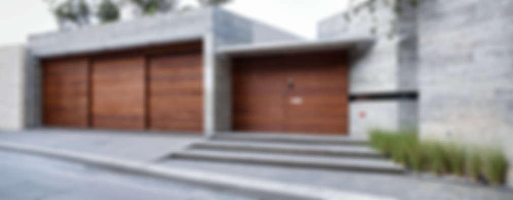 CASA SAN ÁNGEL: Casas de estilo moderno por Landa Suberville