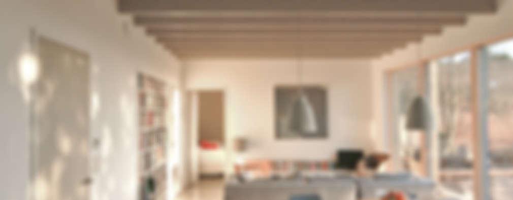 غرفة المعيشة تنفيذ Emmett Russell Architects