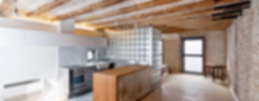 مطبخ تنفيذ Alex Gasca, architects.
