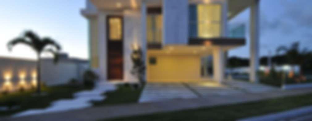 casas de estilo moderno por espao cypriana pinheiro - Fachadas Modernas De Casas