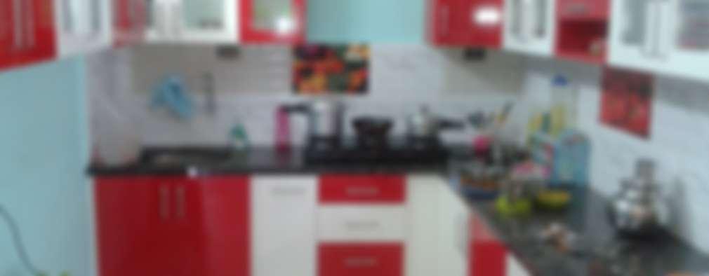 Modular Kitchens at 8 Streaks Interiors:   by Eight Streaks Interiors