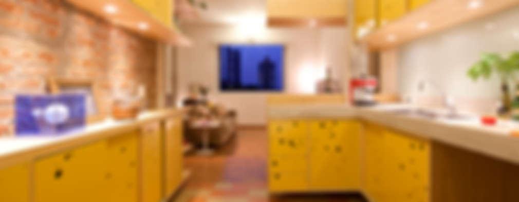 eclectic Kitchen by Zoom Urbanismo Arquitetura e Design