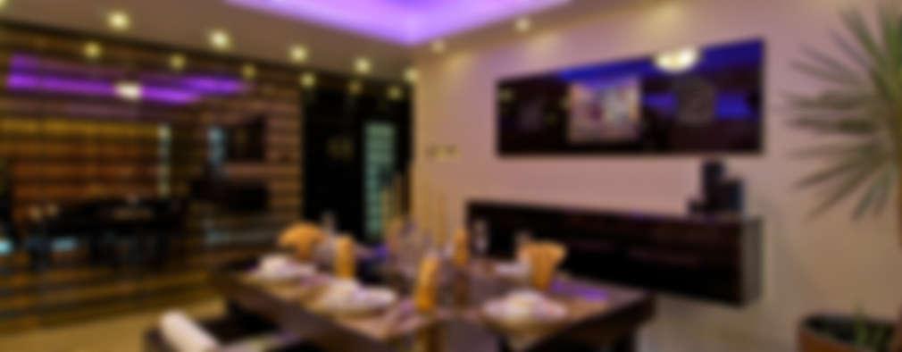 modern Dining room by ZERO9