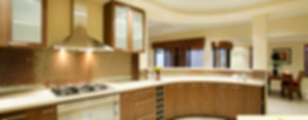 Neeras Kitchen:  Kitchen by Neeras Design Studio