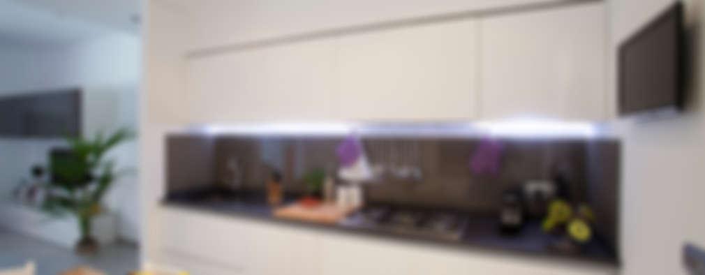 Cocinas de estilo minimalista por Studio_P - Luca Porcu Design