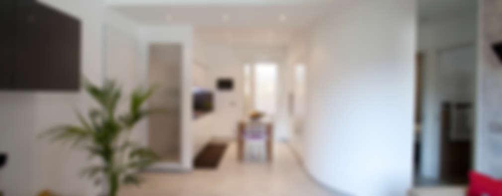 الممر والمدخل تنفيذ Studio_P - Luca Porcu Design