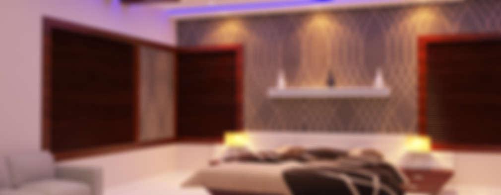 modern Living room by Nimble Interiors