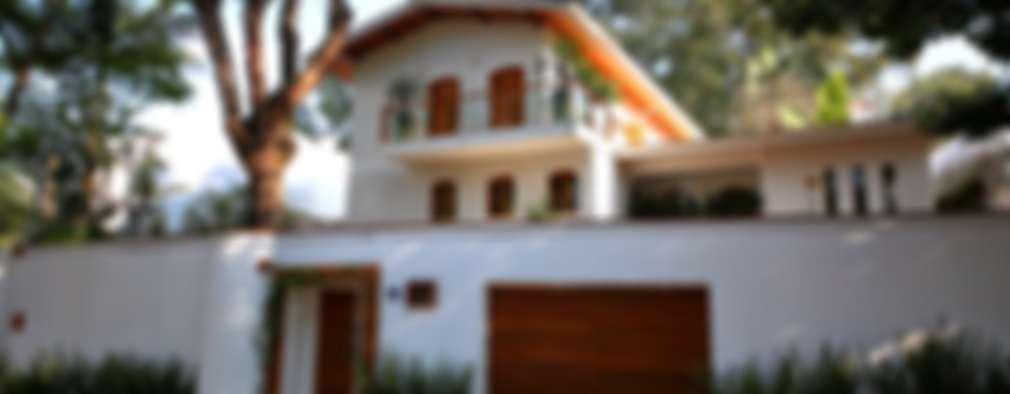 Residência Jardim Marajoara: Casas modernas por MeyerCortez arquitetura & design